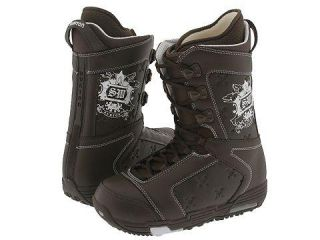 Burton Shaun White Mens Brown/ White Snowboard Boots