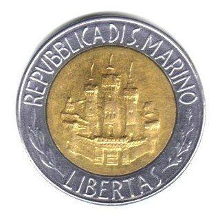 Bi meallic 500 Lire Coin KM#167   Alber Einsein