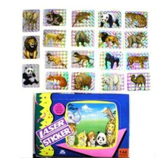 Jungle Animal Laser Sticker Assortment Case Pack 1440