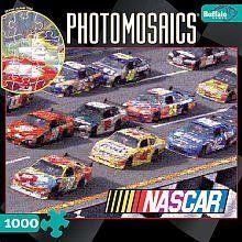 Photomosaics Jigsaw Puzzle   NASCAR II 1000 Pcs Toys
