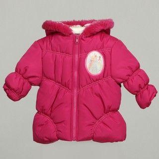 Disney Princess Infant Girls Hooded Coat FINAL SALE