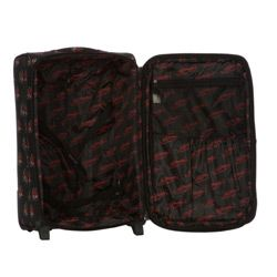 Ed Hardy Eternal Love Black 4 piece Spinner Luggage Set
