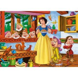 Clementoni   Puzzle de 104 pièces   Princesses Disney : Blanche Neige