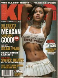 King Magazine, July/August 2003 Issue (Meagan Good Cover) King