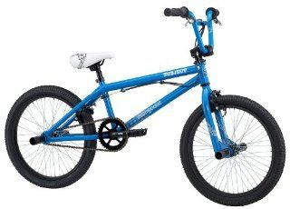 Mongoose Subject Boys Freestyle Bike (20 Inch Wheels, Sky