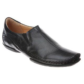 Pikolinos Puerto Rico Slip On   Mens Loafers, Black Shoes