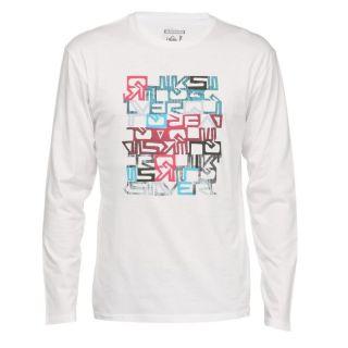 QUIKSILVER T shirt Homme blanc   Achat / Vente T SHIRT QUIKSILVER Tee