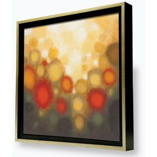 Sean Jacobs Garden Party II Framed Canvas Art