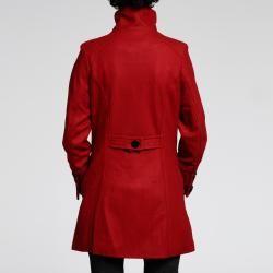 Nuage Womens Melton Wool blend Short Coat