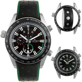 Jacques Lemans Mens Sports Dual Time Chrono Watch