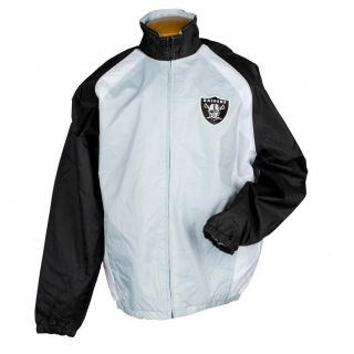 G3 Mens Oakland Raiders Light Weight Jacket
