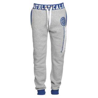 ATHLETICALS Pantalon de Jogging Homme Gris et bleu royal   Achat