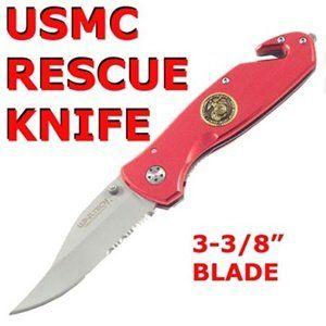 Usmc United States Marine Folding Pocket Knife 172