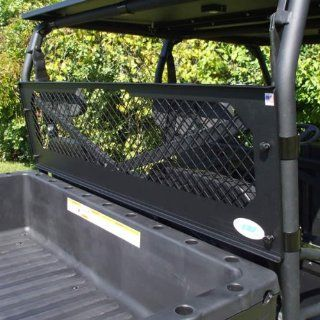 Extreme Metal Products EMP 10542 Black Powder Coated Steel Bulkhead