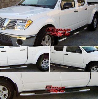 05 12 2011 2012 Nissan Frontier Crew Cab S/S Nerf Step Side Bars