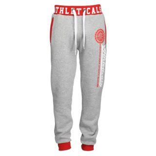 ATHLETICALS Pantalon de Jogging Homme Gris et rouge   Achat / Vente