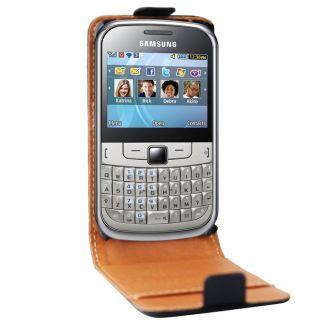 SWISCHARGER Etui Flip Samsung Chat 335   Achat / Vente HOUSSE COQUE