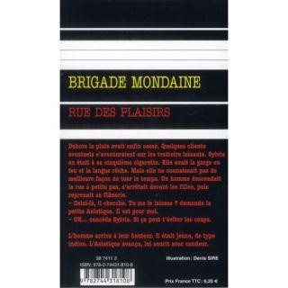 Brigade mondaine .336 ; rue des plaisirs   Acha / Vene livre