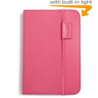 Kindle Lighted Leather Cover, Hot Pink (Fits Kindle