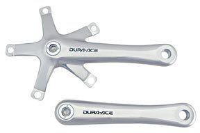 com Crankset Track Shimano Dura Ace 170 Arms Only