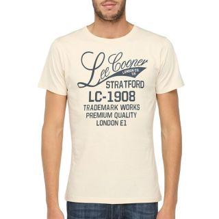 LEE COOPER T Shirt Homme Beige   Achat / Vente T SHIRT LEE COOPER T
