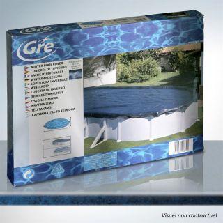 Bâche hivernage piscine ovale 730x375 ou huit 640   Achat / Vente