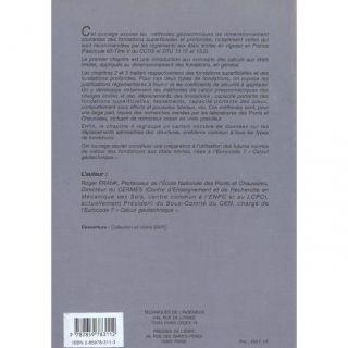 SCIENCES   MEDECINE CALCUL DES FONDATIONS SUPERFICIELLES ET PROFONDES