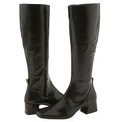Donald J Pliner Naos2 Expresso Stretch Nappa/Baby Calf Boots   Size 6