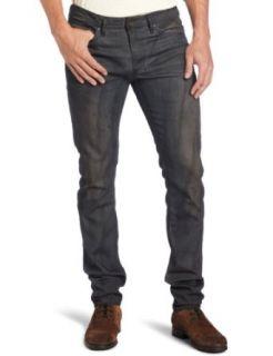 Diesel Mens Shioner Skinny Straight Leg Jean Clothing