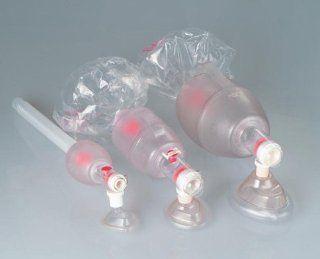 Medline Pediatric Ambu Bag Manual Resuscitators, Case of 6