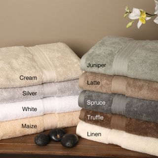 Signature Luxury Egyptian Cotton 6 piece Bath Towel Set Today $40.49
