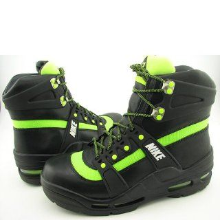 Hiking Black/Green Snowboarding Winter Boots Men Shoes (10) Shoes