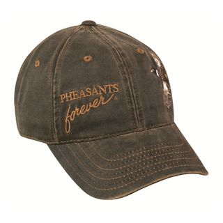 Pheasants Forever Weathered Cotton Adjustable Hat
