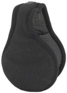 180s Mens Urban Ear Warmer, Black, One Size Clothing