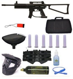 Spyder MR4 MR 4 Paintball Gun Sniper Set: Sports