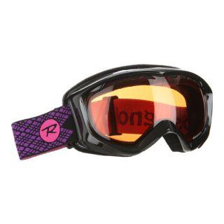 Modèle Glam. Coloris : Noir, violet et rose. Masque de ski ROSSIGNOL