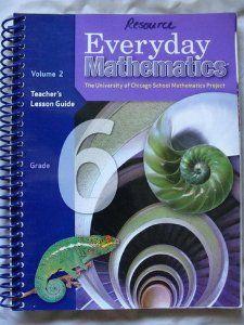 Everyday Mathematics, Grade 6 Teachers Lesson Guide, Vol. 2