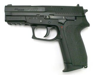 Sig Sauer SP2022 .177 CO2 BB Airgun Pistol   Black Metal