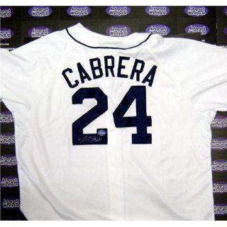 Miguel Cabrera Signed Uniform   )   Autographed MLB