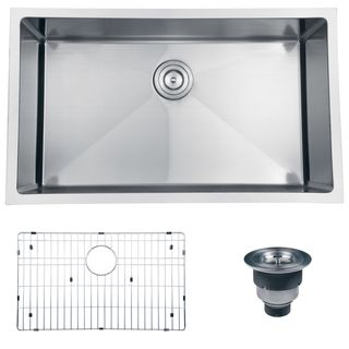 Ruvati 16 gauge Stainless Steel 32 inch Single Bowl Undermount Kitchen