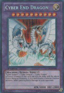 Yu Gi Oh!   Cyber End Dragon (LCGX EN181)   Legendary