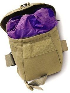 Uncle Mikes Molle Compatable Gas Mask Pouch, Black