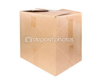 The big cardboard box  Stock Photo © salauyou yury #1008928
