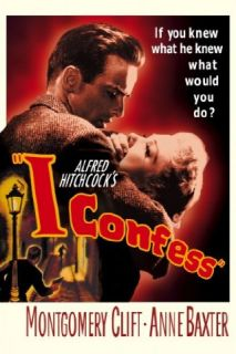 I Confess Montgomery Clift, Karl Malden, Anne Baxter