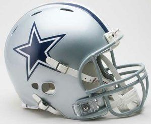 DALLAS COWBOYS Riddell Revolution Football Helmet Sports