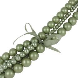 Roman Colored Faux Pearl 4 piece Necklace