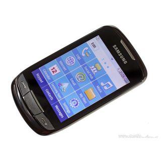 Samsung Corby II GSM Unlocked Black Cell Phone