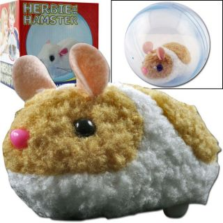Battery Operated Herbie the Hamster With Ball