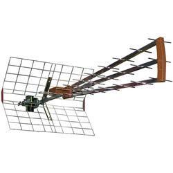 Antenne TV UHF trinappe amplifiée Elap   Cette antenne trinappe à