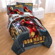 Iron Man 2 Hall of Armor Twin Comforter